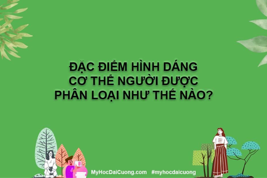 dac diem hinh dang co the nguoi duoc phan loai nhu the nao