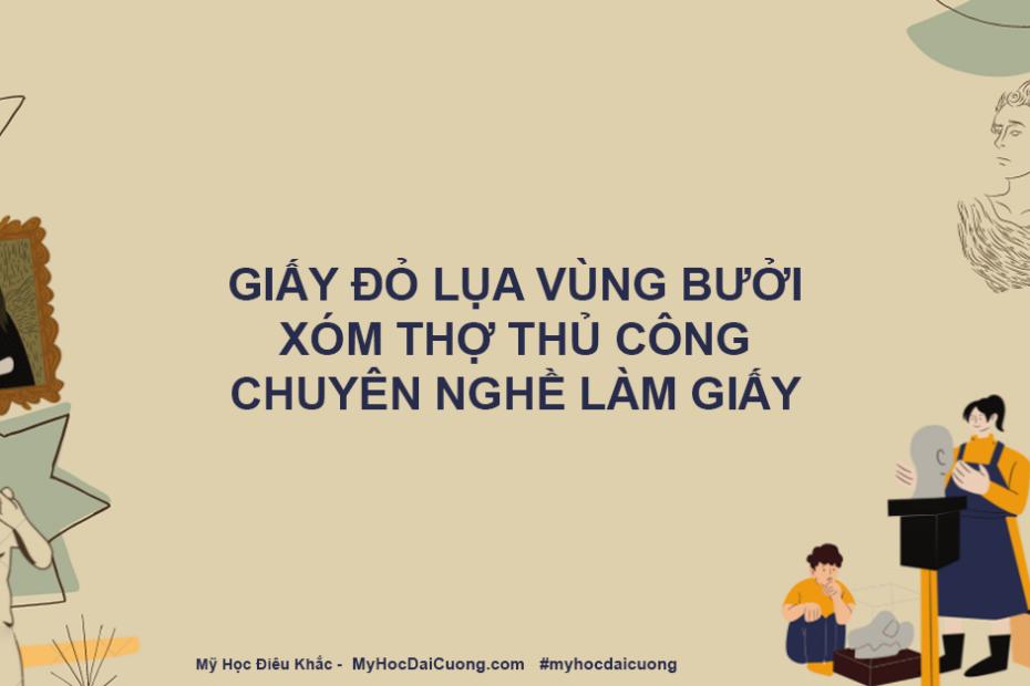 giay do lua vung buoi xom tho thu cong chuyen nghe lam giay